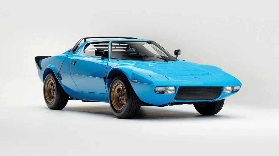 Este Lancia Stratos, de 1975, será subastado por RM Sotheby's