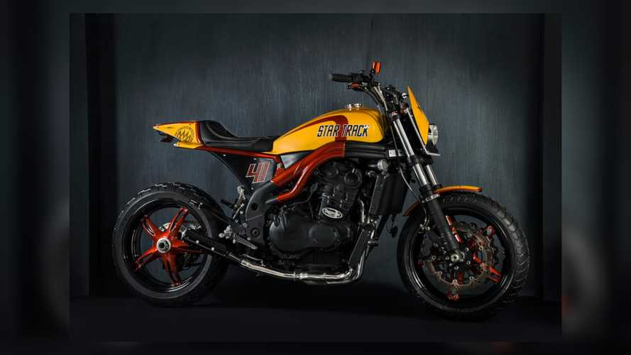 Does This Custom Speed Triple Flat Tracker Have Warp Drive?