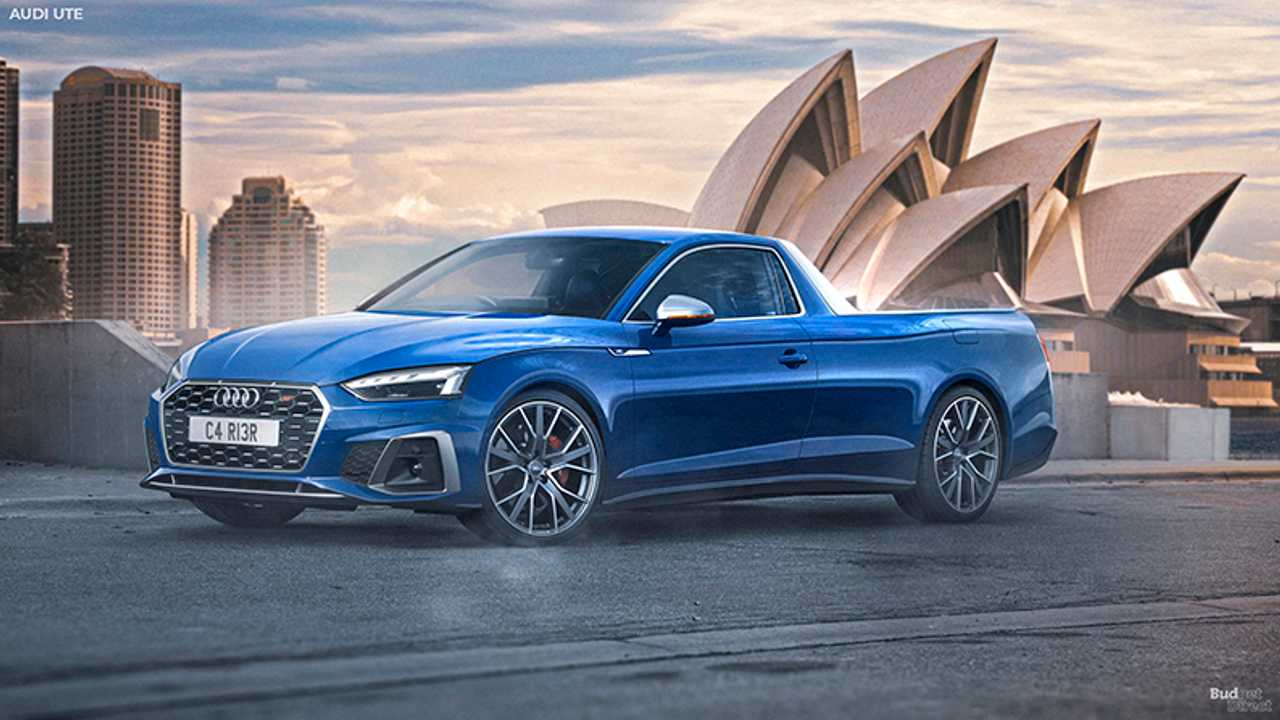 Picape da perua Audi RS4 Avant?