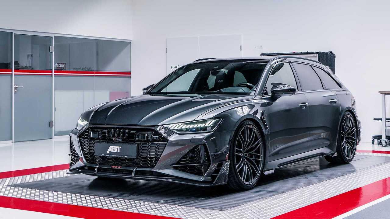 El Audi RS6-R Avant de ABT es el Super Wagon más malo de todos 48