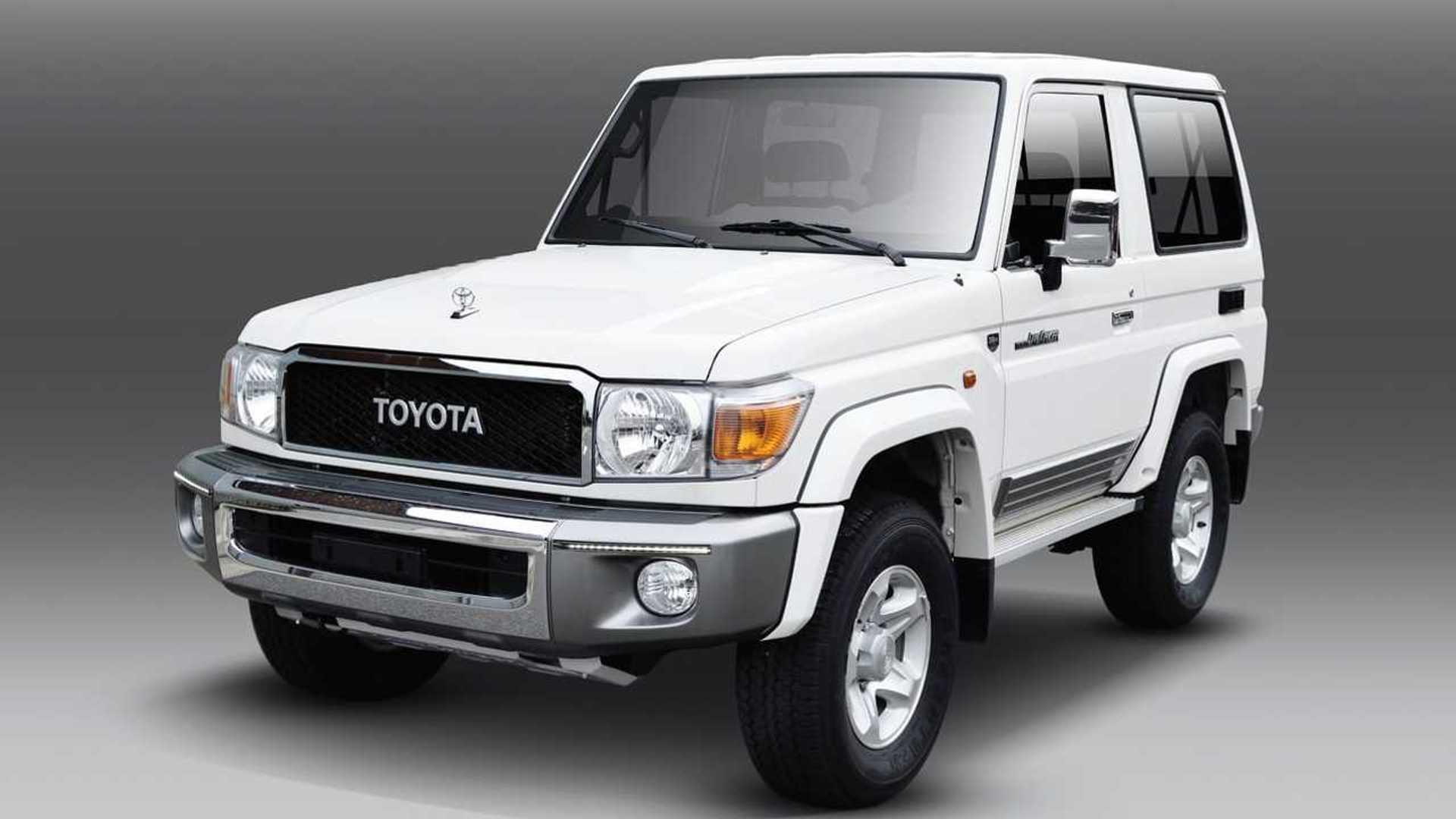 2020 Toyota Land Cruiser Diesel Pictures