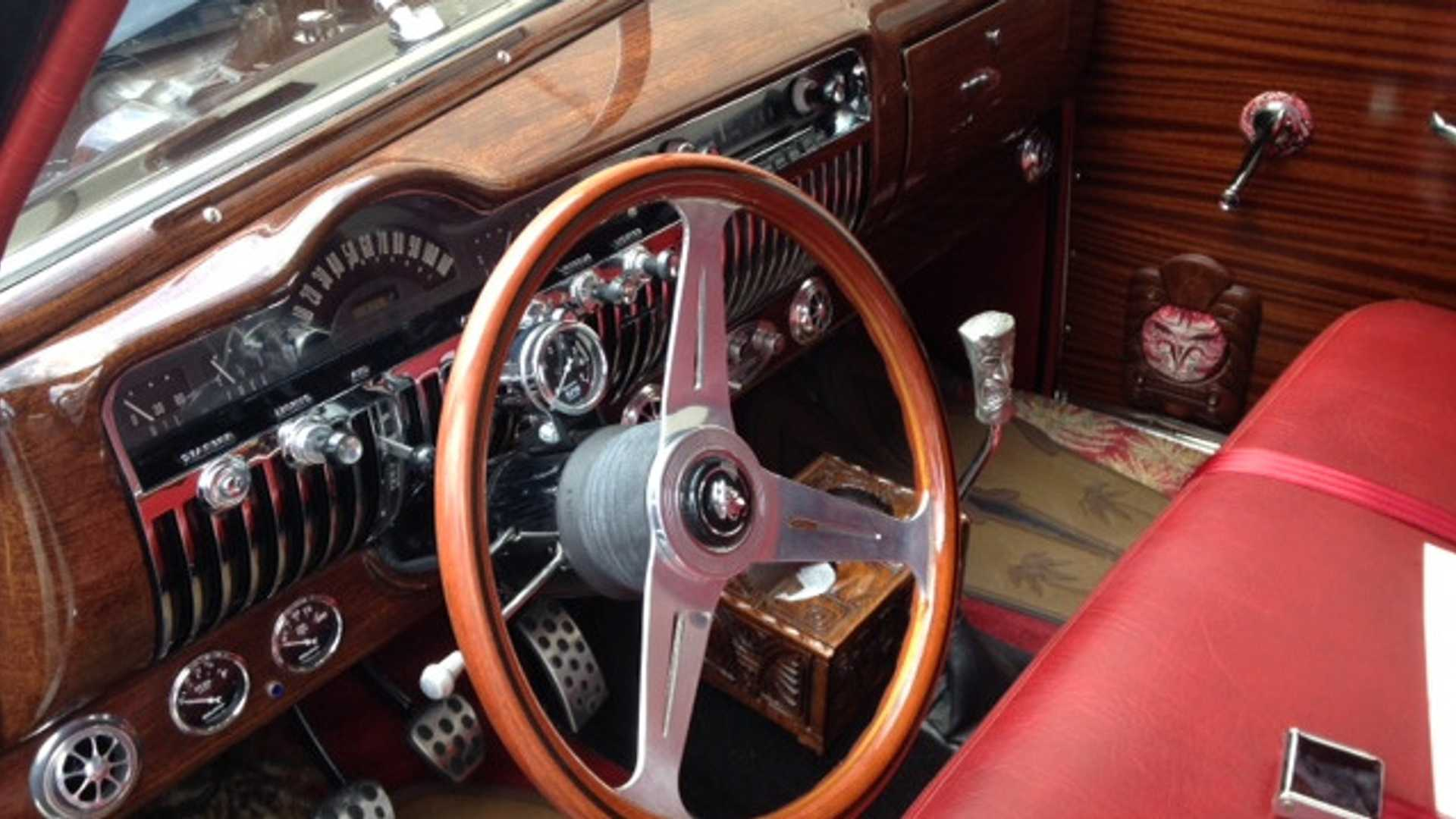 """[""""Roll With This 1951 Mercury Woody Wagon""""]"""