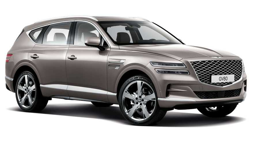 Genesis GV80 debuts as world's latest luxury SUV