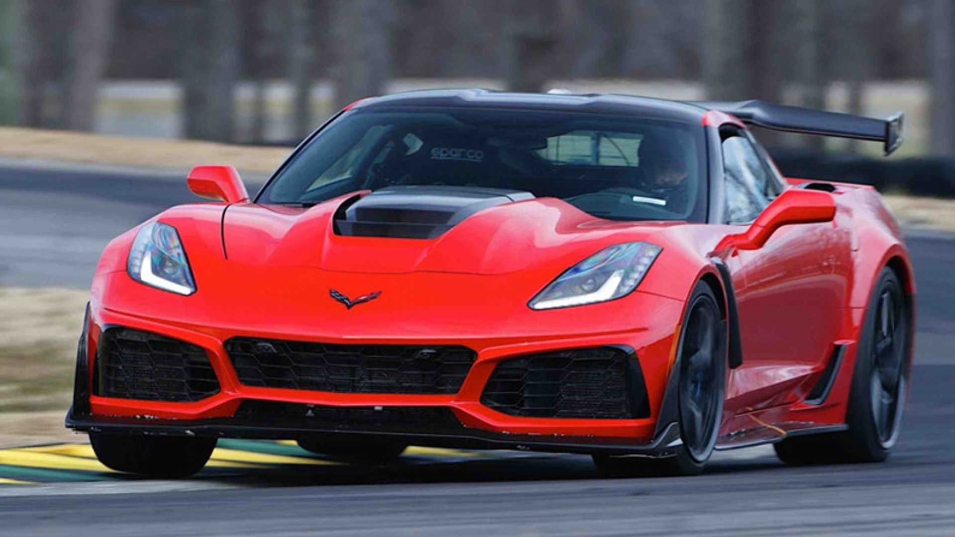"[""NCM Adds 2019 Chevy Corvette ZR1 Prototype""]"