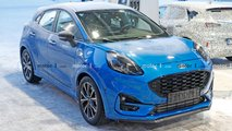 ford puma st spied no camouflage