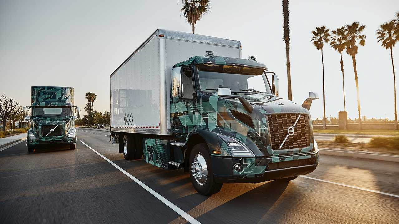 Volvo Trucks VNR electric demo truck