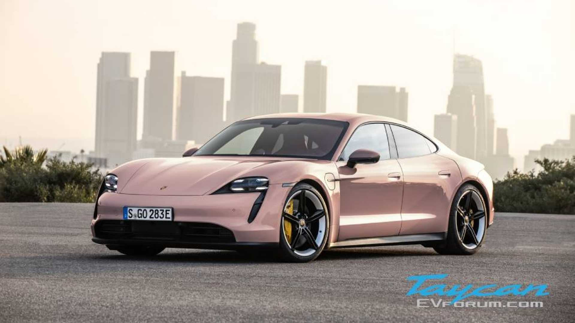 New Porsche Taycan Paint Colors Are Wild And Exciting