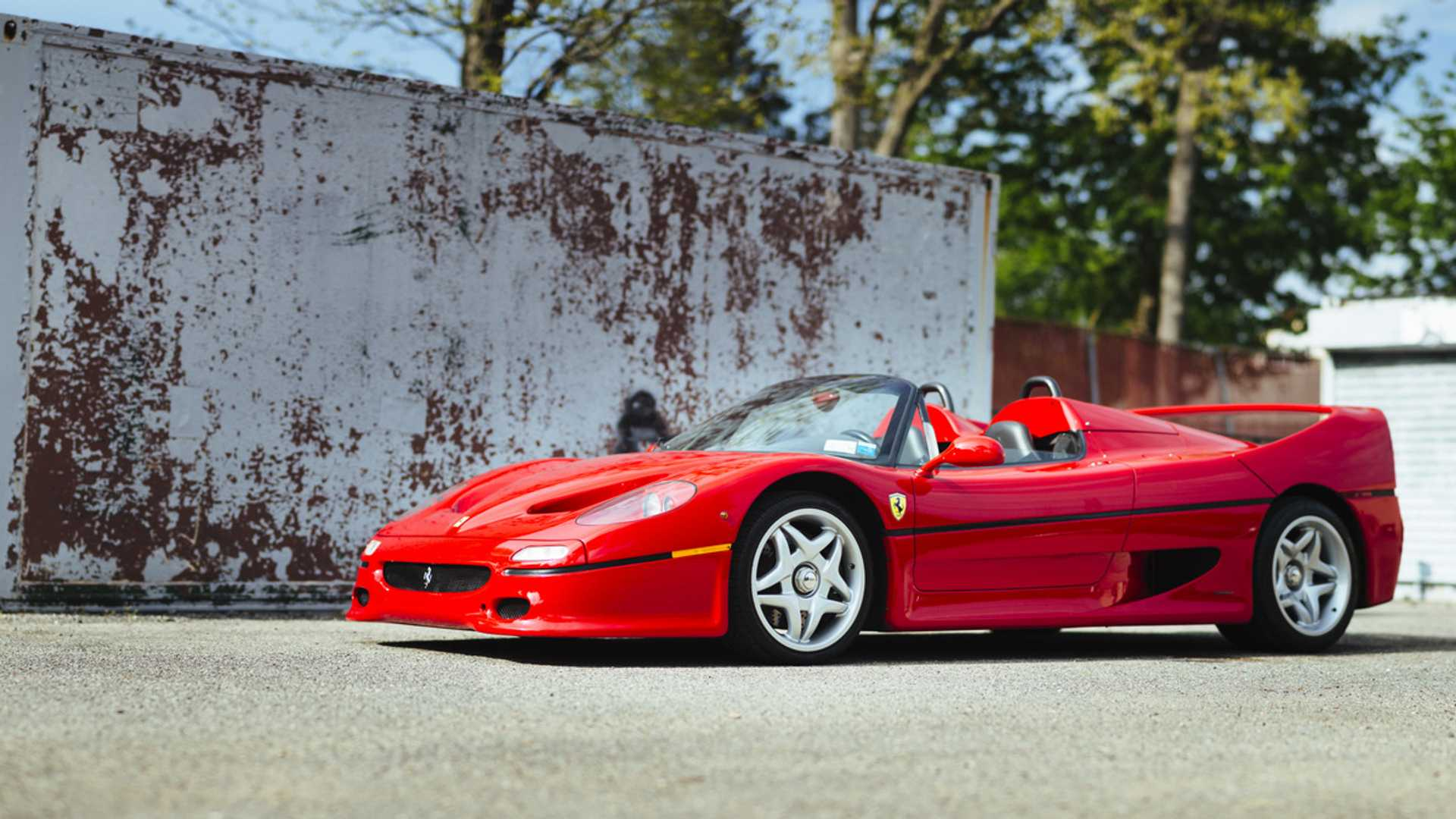 "[""Buy This Pre-Production 1995 Ferrari F50""]"