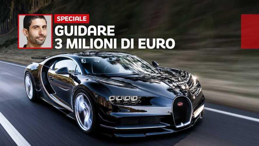 Che effetto fa guidare una Bugatti Chiron da 3 milioni di euro
