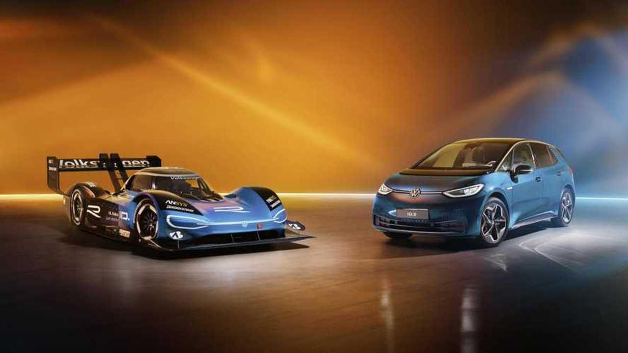 Volkswagen ID.R and Volkswagen ID.3