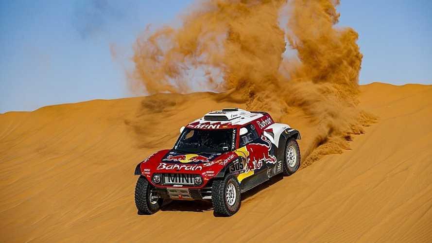 El Dakar se aprieta... ¡24 segundos entre Sainz y Al Attiyah!
