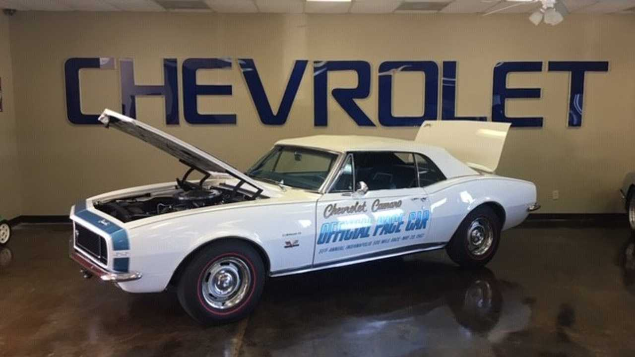 Here's A Rare Chance To Own One-Of-Five 1967 Camaro Pace Cars