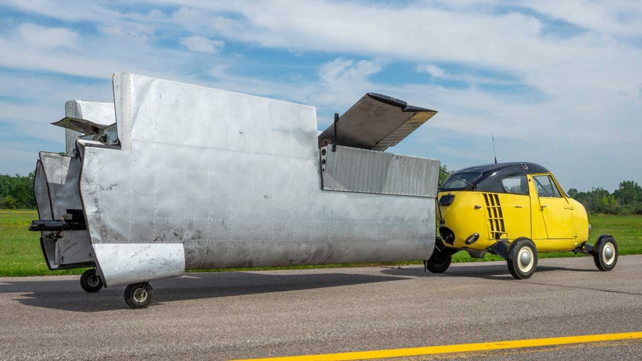 Take To The Skies In This 1954 Taylor Aerocar