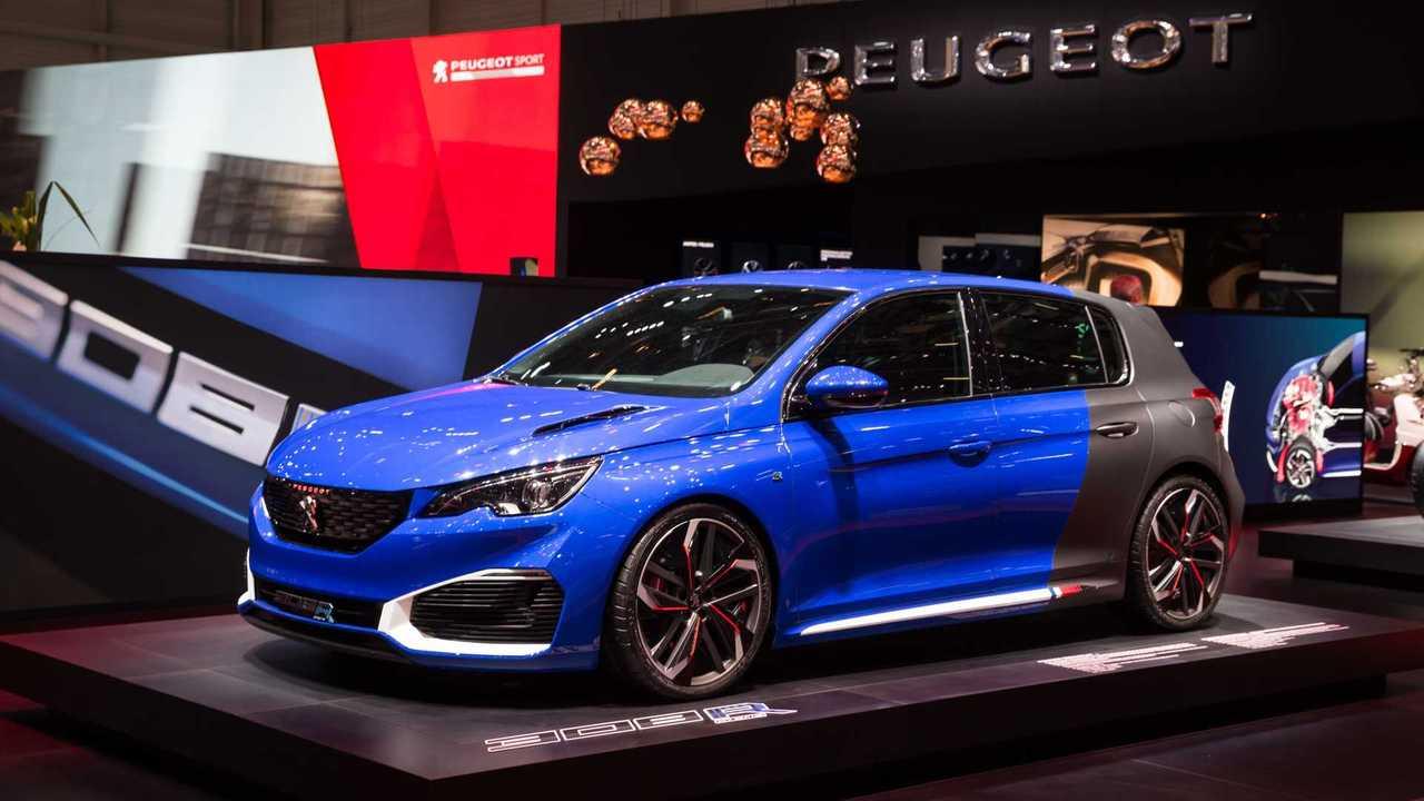 Peugeot 308 R Hybrid at Geneva Motor Show 2016