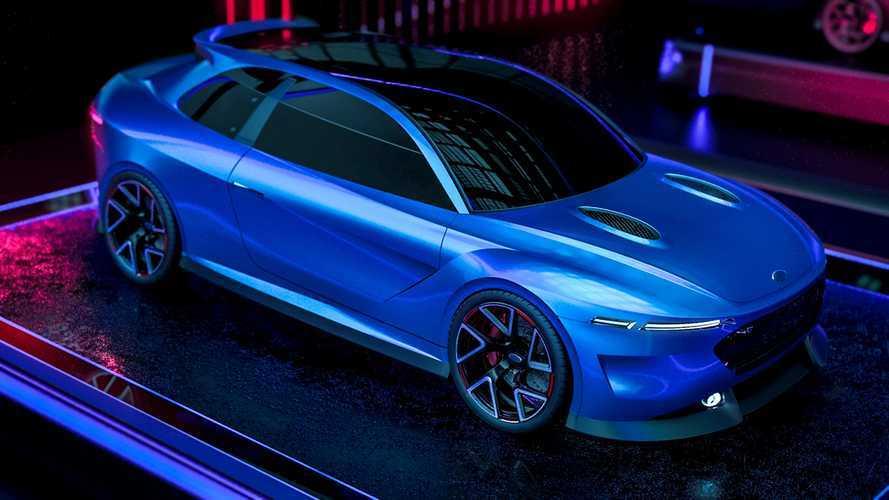 ¿Y si fuera así el Ford Escort RS Cosworth del futuro?