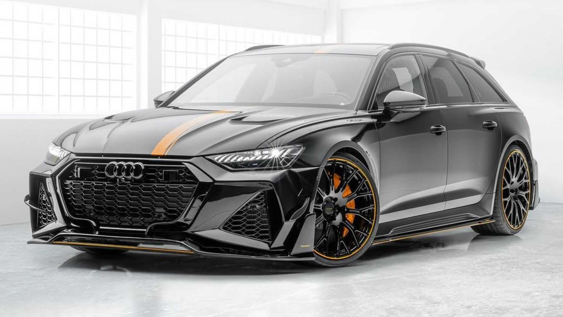 2021 Audi Rs6 Avant By Mansory Is An Extravagant Super Estate