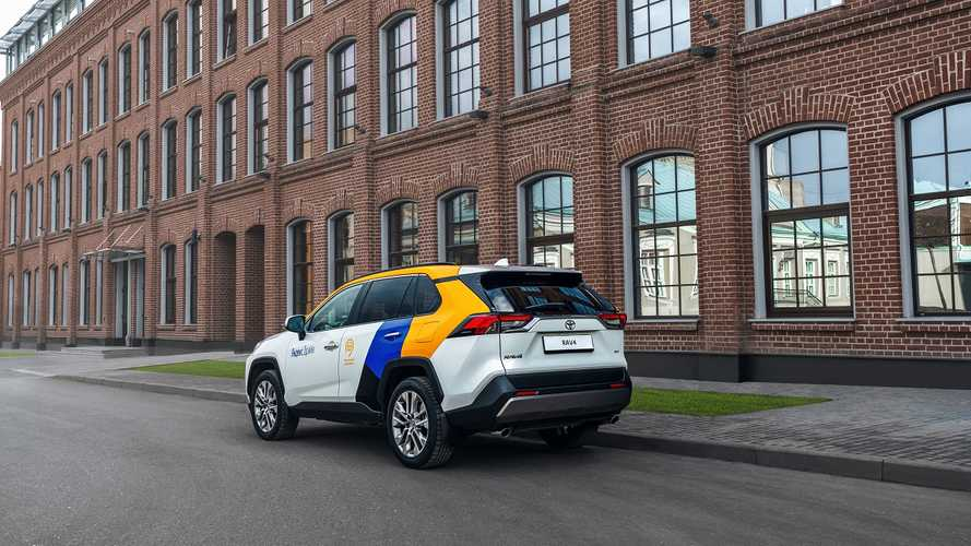 Toyota RAV4 для Яндекс.Драйв