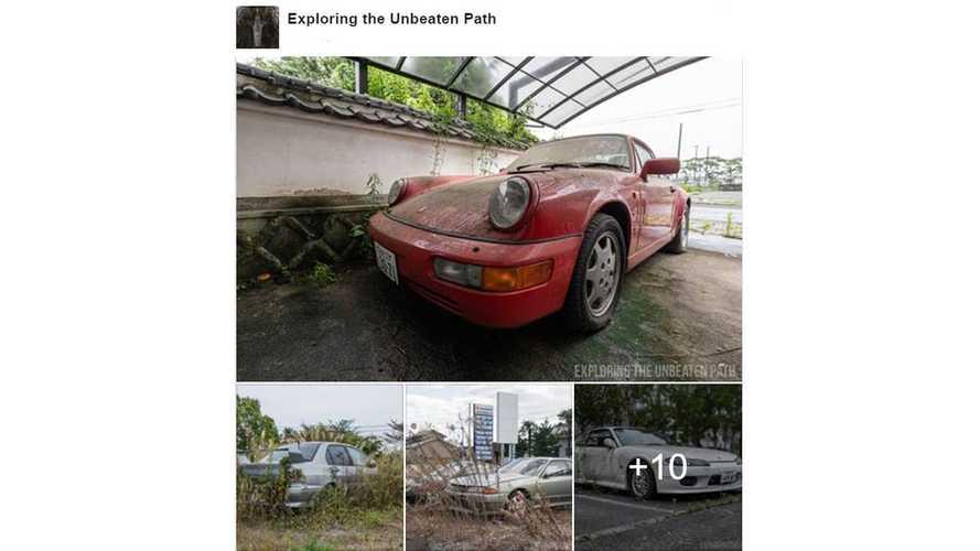 Les voitures irradiées et abandonnées de Fukushima