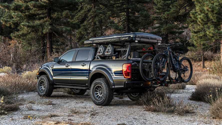 Este Ford Ranger preparado por Hellwig es un pick-up para la aventura