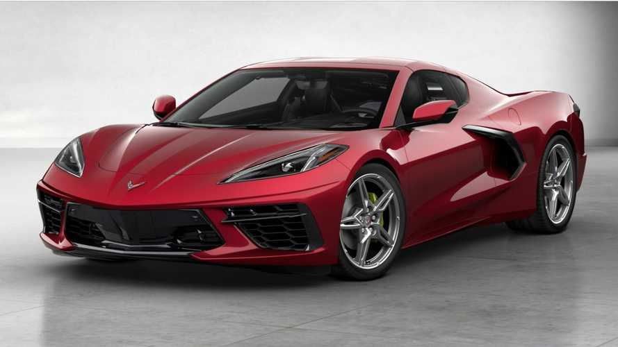 This Is What The 2021 Corvette C8's New Red Mist Color Could Look Like