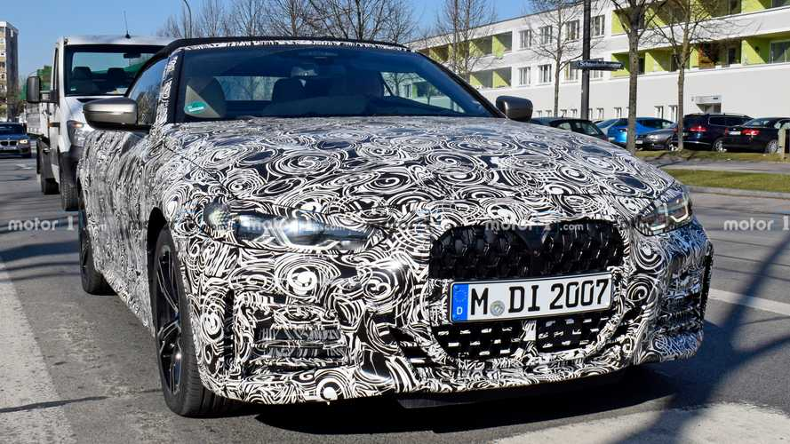 2021 BMW 4 Series Convertible new spy photos
