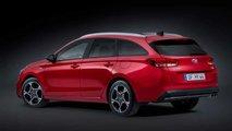 Hyundai i30 station wagon restyling (2020)