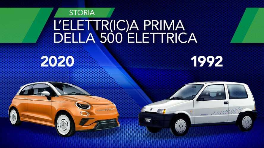 """Fiat 500 elettrica, ecco com'era la """"nonna"""" Cinquecento Elettra"""