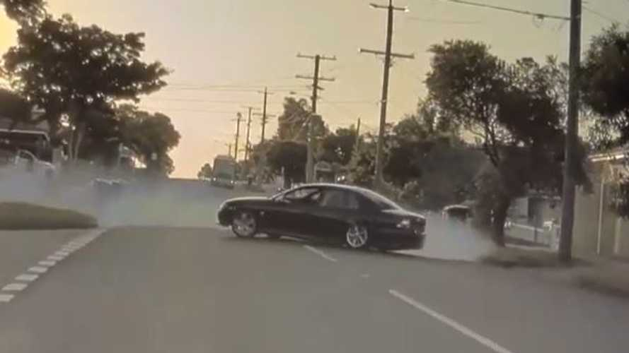 Watch Tesla Dashcam Video Of Unsafe Driver Doing Donuts