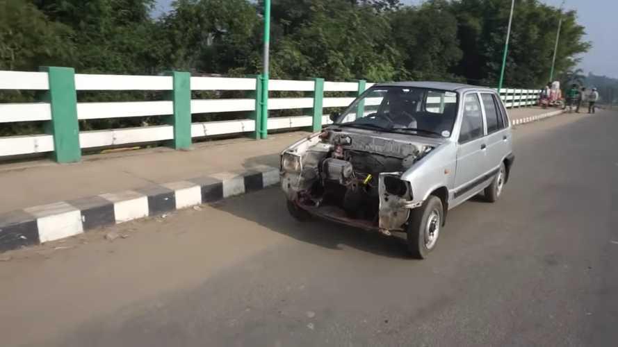 Videó: Marutiból csinált piszok olcsó módszerekkel villanyautót egy indiai szerelő