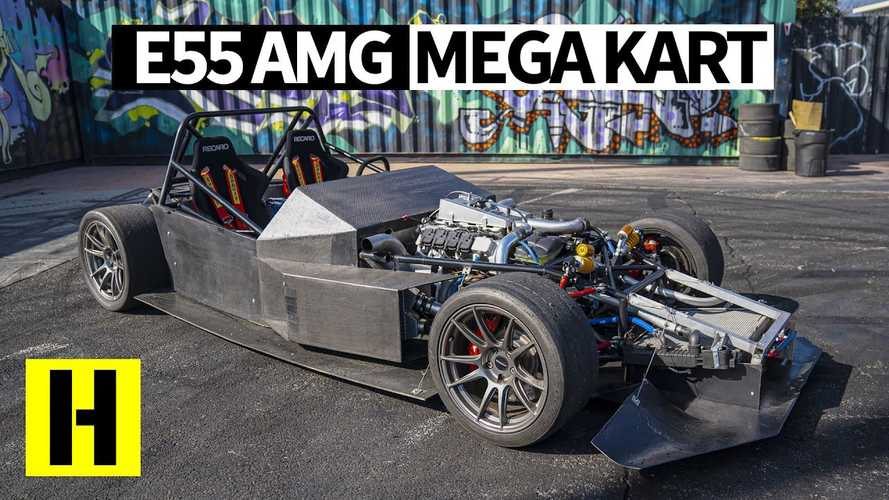 Latest Hoonigan video features 700 bhp AMG powered track kart