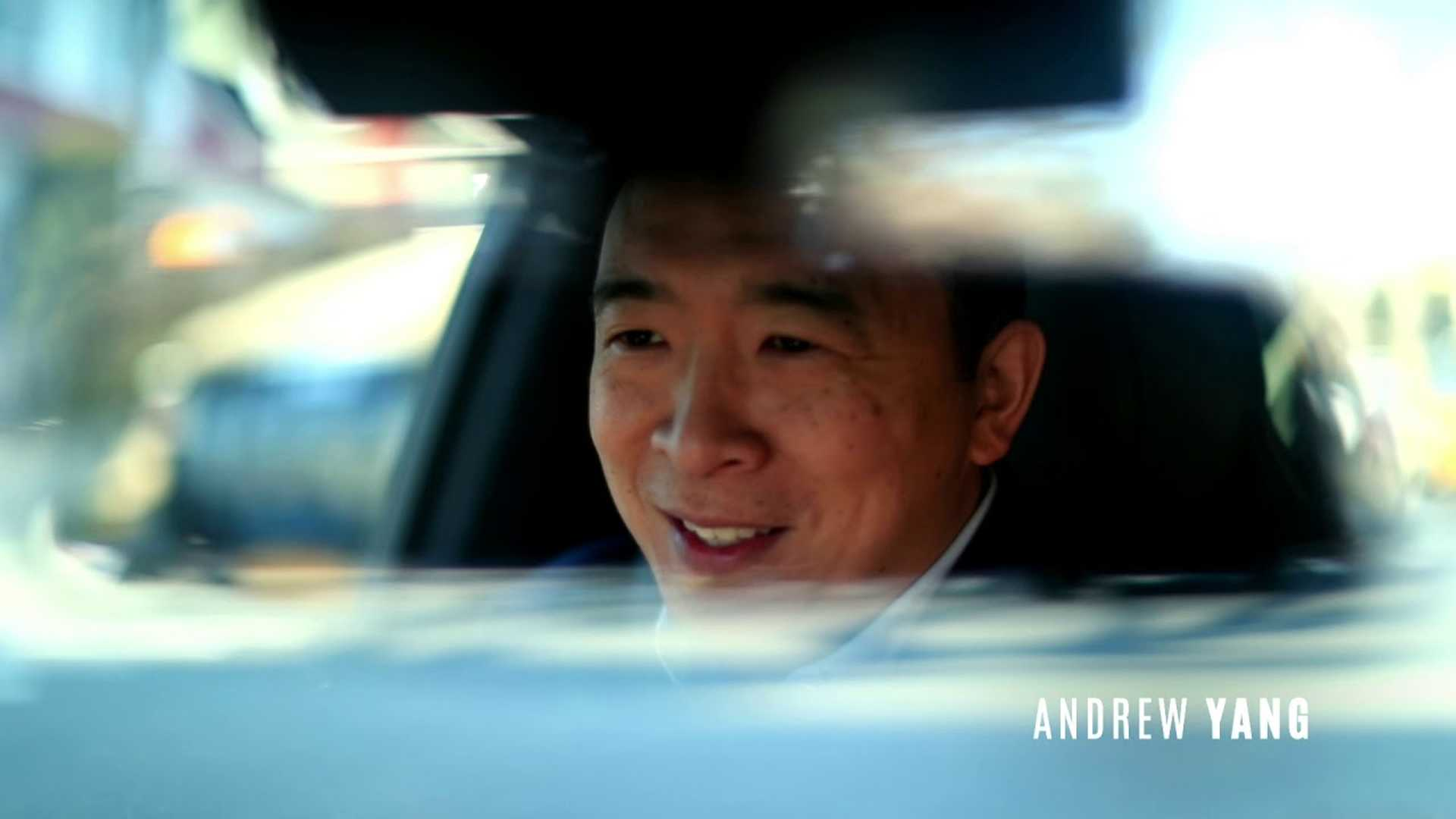 Andrew Yang's New Ad Is Overflowing With Teslas: Musk Supports Yang