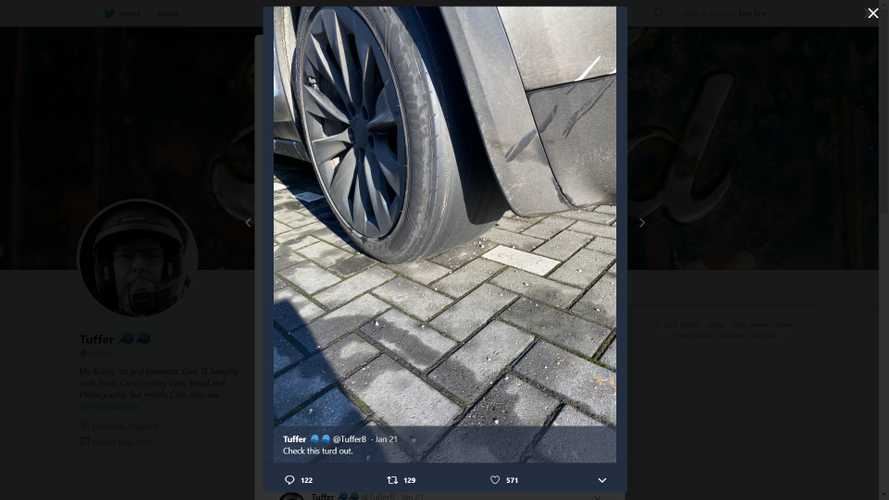 Make No Mistake: This Tesla Model X Is Not On Slick Tires