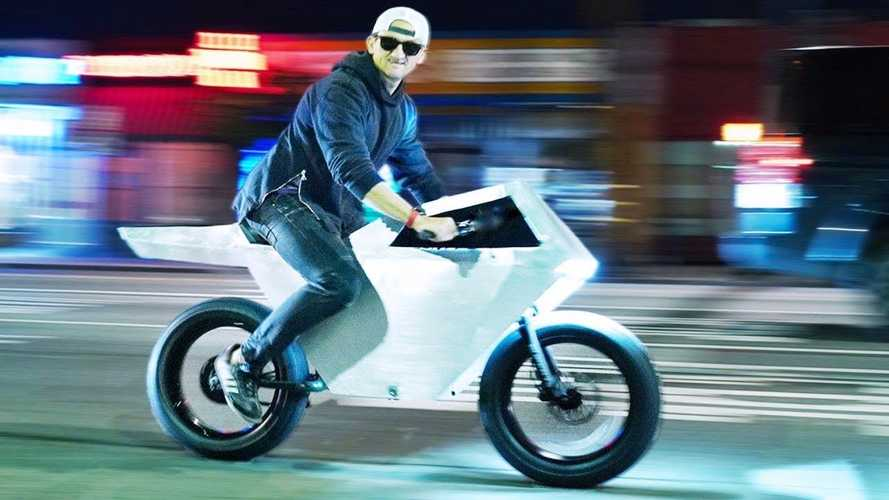 This 'Tesla Cyberbike' Build Is Giving Us Total N64 Vibes