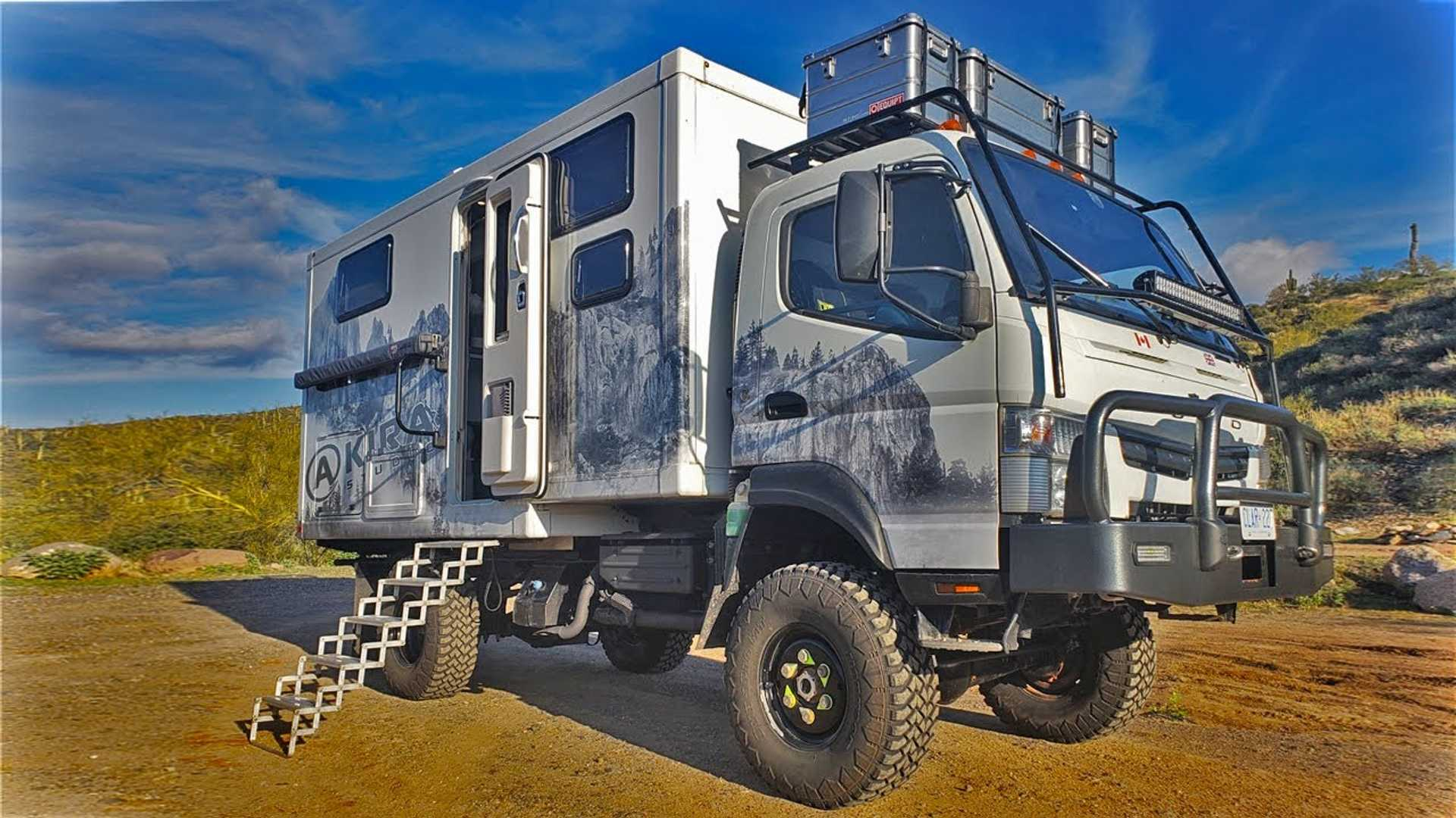 Custom Fuso Camper Is A Clever Tiny Home Overlander