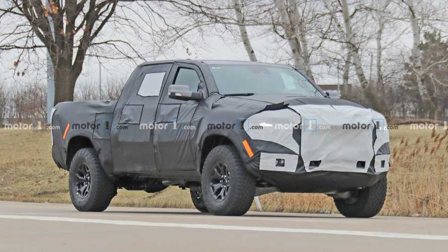 Ram Rebel TRX Spied For The First Time In Production Trim