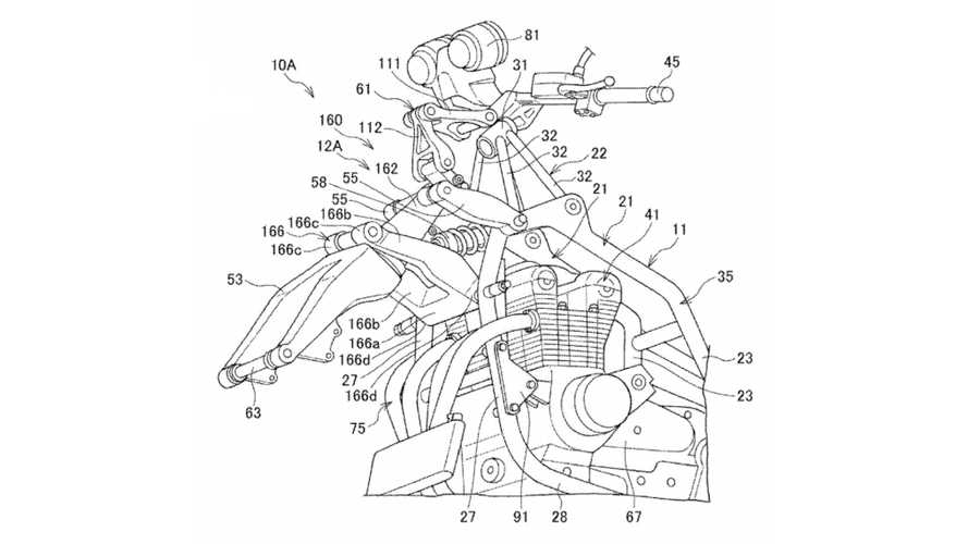 Honda Suspension Design Patents