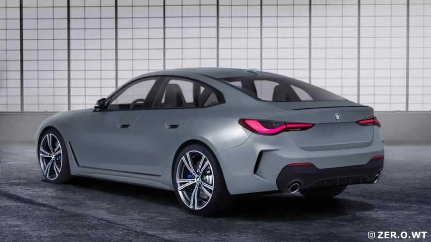 BMW Série 4 Gran Coupé 2021 - Projeções