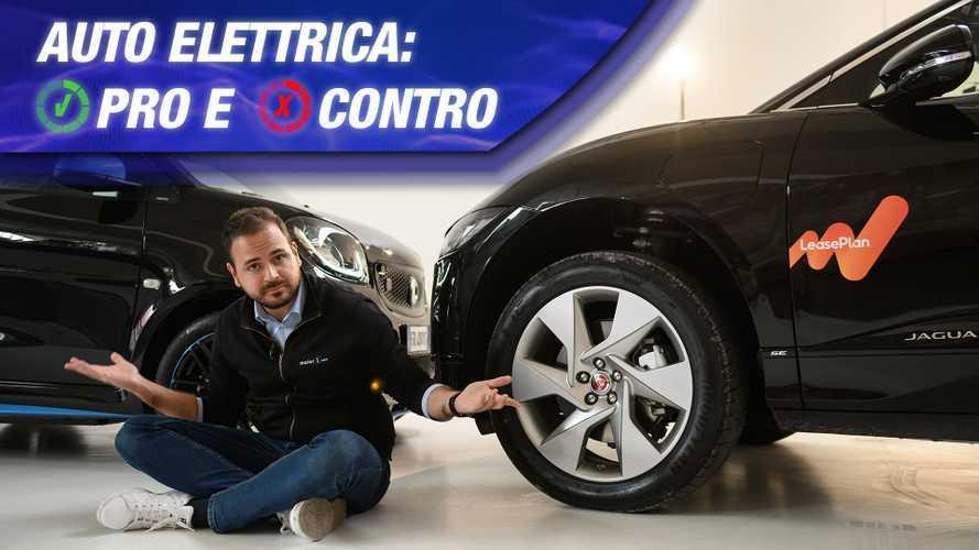Auto elettriche, i vantaggi... e gli svantaggi