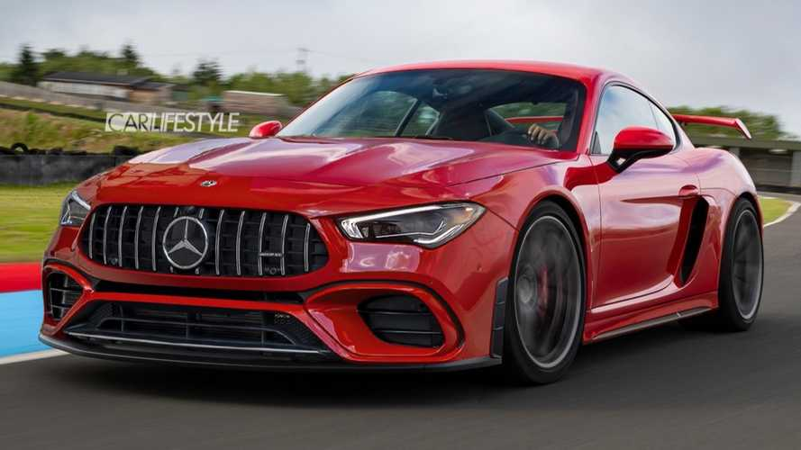 Baby Mid-Engined Mercedes-AMG Rendered To Life As Cayman Rival