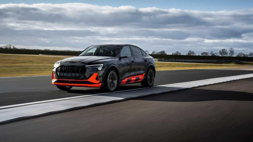 Audi e-tron S et e-tron Sportback S : 3 moteurs, plus de 500 ch
