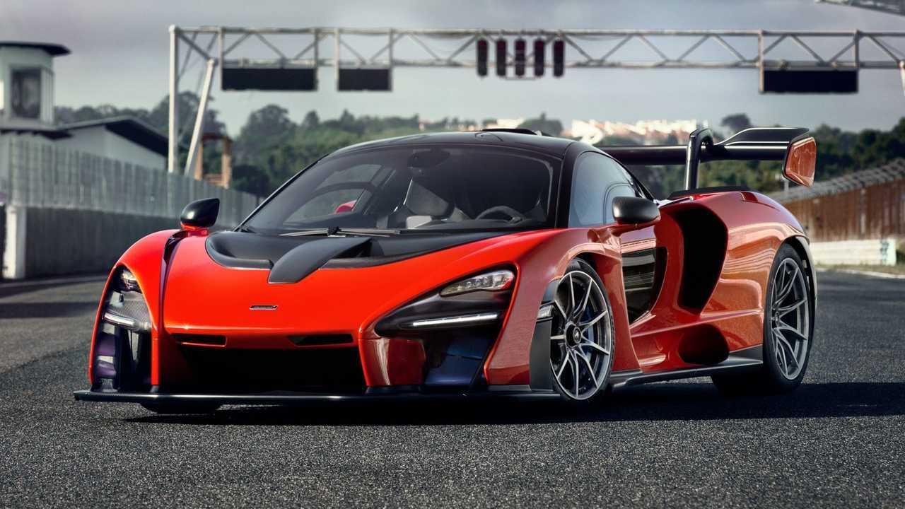1. McLaren Senna - 1:12.9