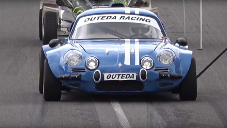 This Crazy Alpine A110 Might Be The Ultimate Hillclimb Car