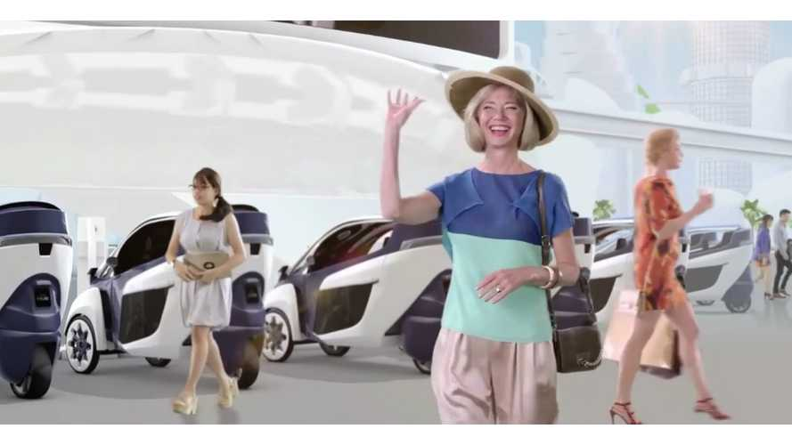 Smart Mobility Society Introduced By Toyota; Features Prius PHV and i-Road (video)