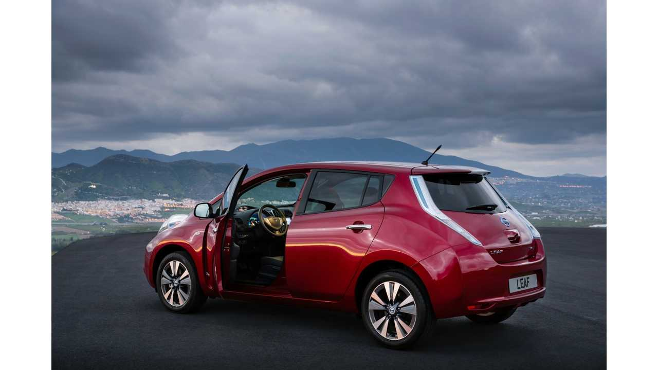 In September Nissan Sold 1,175 LEAFs in Europe; Tesla Model S Sales Nearly Matched That