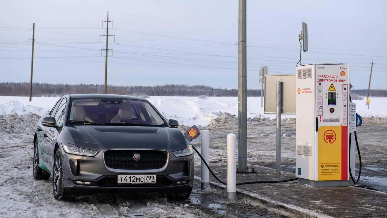 Ягуар I-Pace в России