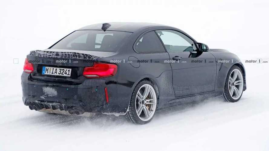 2020 BMW M2 CS Spy Photos