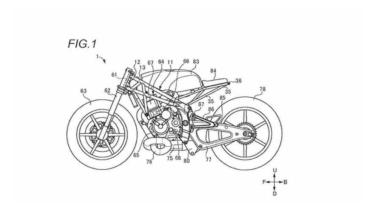 Suzuki Patent New Motorcycle