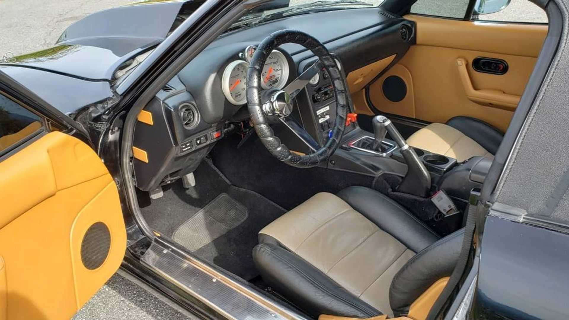 Buy This Monster Miata With A Stroked V8, Go Hellcat Hunting