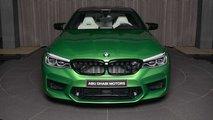 BMW M5 Competition Rallye Grün
