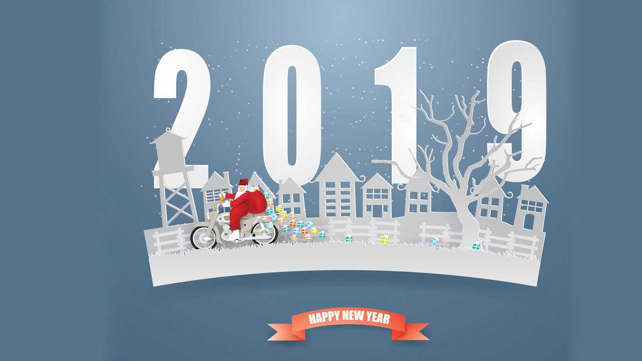 Motorcycle New Year